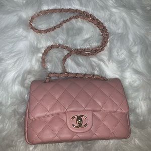 Brand New Pink Chanel Purse